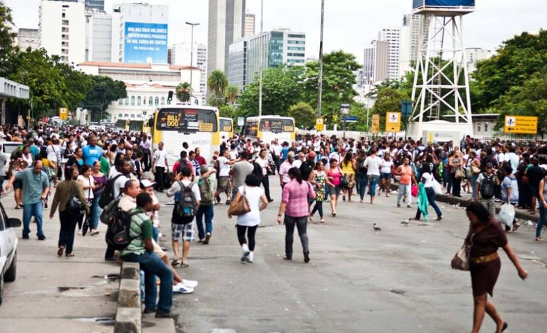 Greve  de ônibus deixa Rio confuso / Foto: Reynaldo Vasconcelos/Futura Press/Estadão Conteúdo